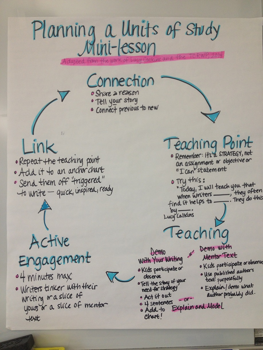 Charting the Anatomy of a Quality Mini-Lesson